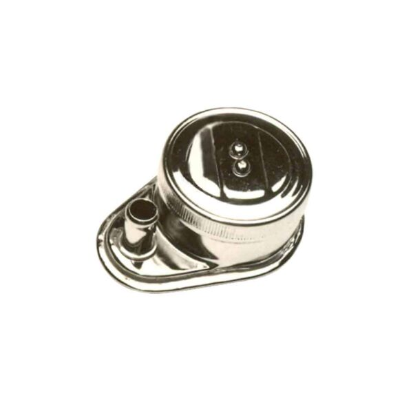 Oil filler cap without pipe - Engine - Oil circuit - Chrome oil filler  - Generic