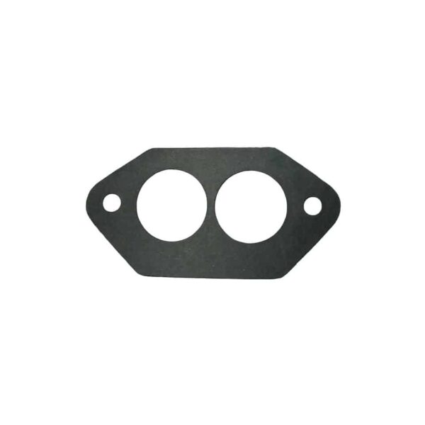 Gasket between cylinder head and manifold, dual portas pair - Engine - Fuel and intake - Manifold seals  - Bugpack