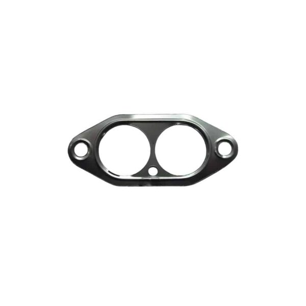 Aluminium gasket between cylinder head and manifold, dual porteach - Engine - Fuel and intake - Manifold seals  - Generic