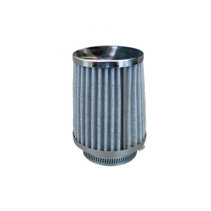 Chrome air filtercone-shaped, Pod- style - Engine - Fuel and intake - ICT carburettors  - Generic