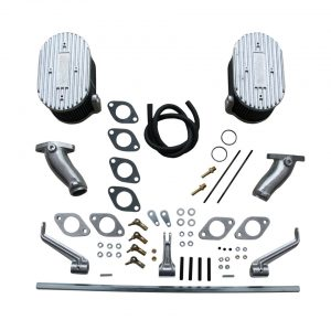 Manifolds and linkage for ICT carburettors, Type 1 single port - Engine - Fuel and intake - ICT carburettors  - Generic