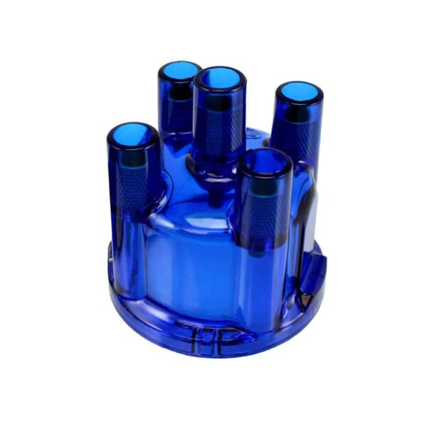 Distributor cap, blue - Engine - Ignition - Distributor caps  - Generic