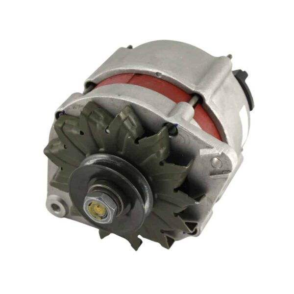 Alternator - Engine - Pulley and loading circuit - Generator  - Generic