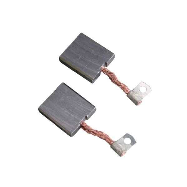 Carbon brushes (2) for 12V generator - Engine - Pulley and loading circuit - Generator, alternator  - Generic