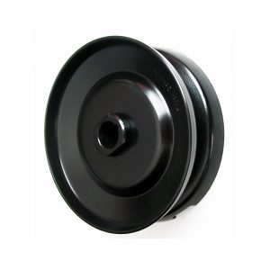 12V pulley, black, top quality - Engine - Pulley and loading circuit - Generator pulley  - Generic