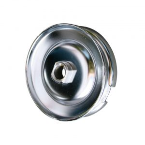 12V pulley, chrome - Engine - Pulley and loading circuit - Generator pulley  - Generic
