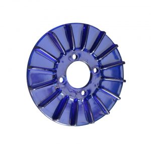 Pulley cover, blue - Engine - Pulley and loading circuit - Generator pulley cover  - Generic