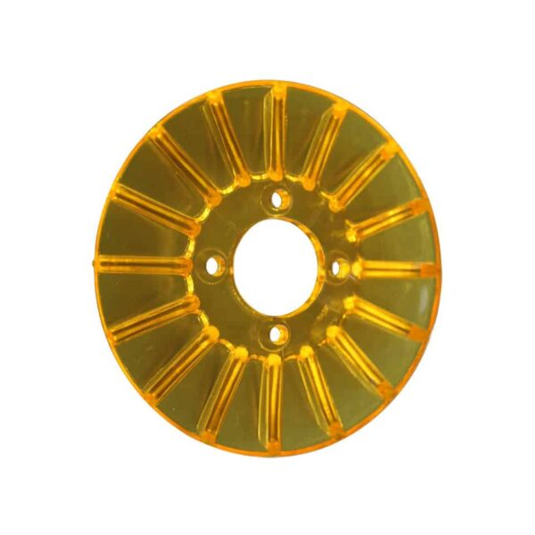 Pulley cover, yellow - Engine - Pulley and loading circuit - Generator pulley cover  - Generic