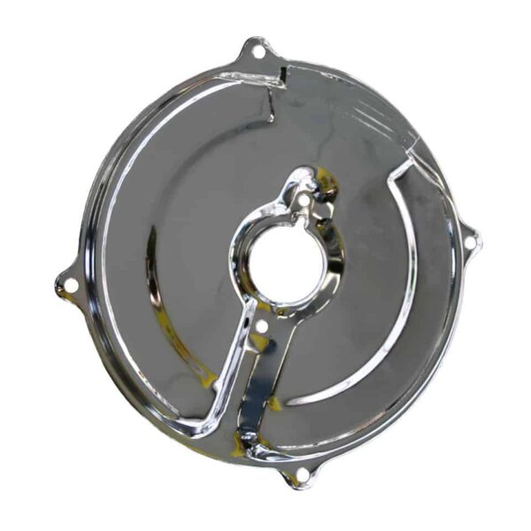 Inner plate, chrome - Engine - Pulley and loading circuit - Backing plate  - Generic