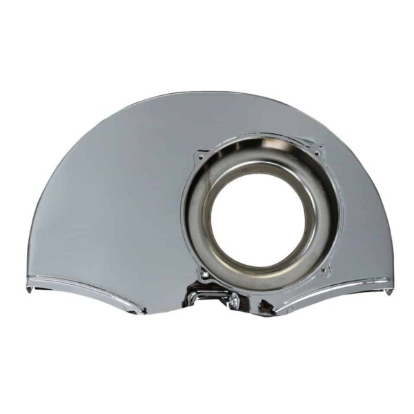 Chrome shroud without ducts - Engine - Engine cooling tin - Fan shrouds  - Generic
