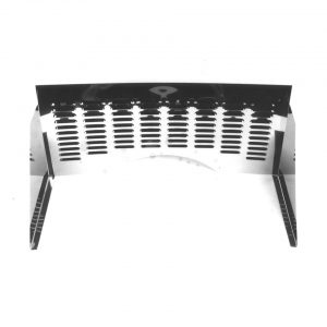 Firewall, stainless steel, with louvers - Engine - Engine cooling tin - Firewall  - Generic