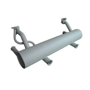 Exhaust 30 hp (2 exhaust pipes) - Engine - Exhaust and accessories - Stock style exhausts  Beetle and Karmann Ghia  - Generic