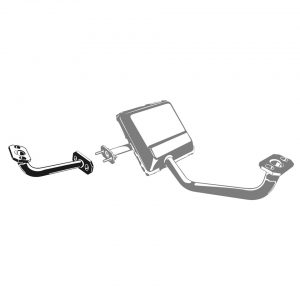 Tube, EGR Filter-exhaust - Engine - Exhaust and accessories - Stock style exhausts  Beetle and Karmann Ghia  - Generic