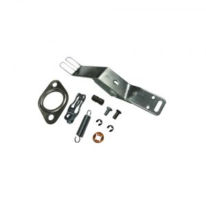 Mounting kit for Heat exchanger, left - Engine - Exhaust and accessories - Heat exchangers Beetle/  Bus/  Karmann Ghia  - Generic