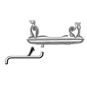 Exhaust tipfor 1060-04 - Engine - Exhaust and accessories - Original style exhausts  Bus, T 181, Type 3, Type 4  - Generic