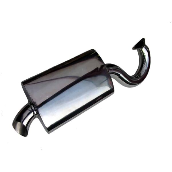 Muffler 'Fatboy' 1 5/8'' - Engine - Exhaust and accessories - Exhaust muffler Fatboy  - Generic