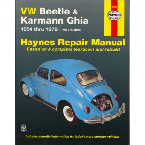 VW Beetle & Karmann Ghia ManualEnglishFreund Ken, Stubblefield Mike, John H Haynes - Manuals - Books - Technical books  Beetle/Karmann Ghia  - Bugpack