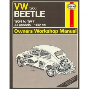 VW Beetle Manual 1200EnglishJ.H. Haynes - Manuals - Books - Technical books  Beetle/Karmann Ghia  - Generic