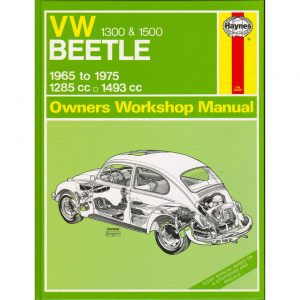 VW 1300 & 1500 Beetle ManualEnglishJ.H. Haynes - Manuals - Books - Technical books  Beetle/Karmann Ghia  - Generic