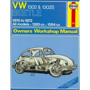VW 1302 & 1302S ManualEnglishJ.H. Haynes - Manuals - Books - Technical books  Beetle/Karmann Ghia  - Generic