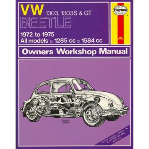 VW 1303, 1303S & GT ManualEnglishJ.H. Haynes - Manuals - Books - Technical books  Beetle/Karmann Ghia  - Generic