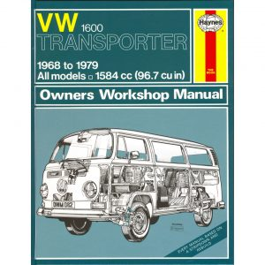 VW 1600 Transporter ManualEnglishJ.H. Haynes - Manuals - Books - Technical books Bus/Type 3/ Porsche  - Generic