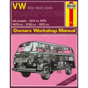 VW 1700/1800/2000 Transporter ManualEnglishJ.H. Haynes - Manuals - Books - Technical books Bus/Type 3/ Porsche  - Generic