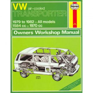 VW Air-cooled Transporter ManualEnglishJ.H. Haynes - Manuals - Books - Technical books Bus/Type 3/ Porsche  - Generic