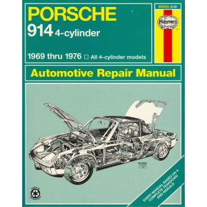 Porsche 914 4-cylinderEnglishJ.H. Haynes - Manuals - Books - Technical books Bus/Type 3/ Porsche  - Generic