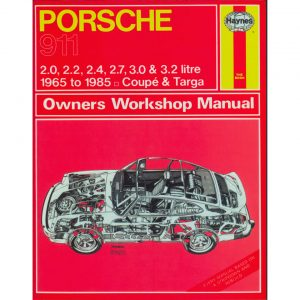 Porsche 911 ManualEnglishJ.H. Haynes - Manuals - Books - Technical books Bus/Type 3/ Porsche  - Generic