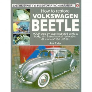 How to restore my Volkswagen BeetleEnglishJim Tyler - Manuals - Books - Informative books  Beetle/ buggy  - Generic