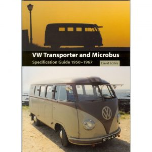 VW Transporter & Microbus Specification guide 1950 - 1967EnglishDavid Eccles - Manuals - Books - Informative books Bus/ Type 3/ Porsche  - Generic