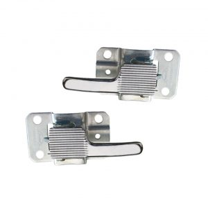 Door handles insidechrome, as pair - Interior - Door finish and emergency brake - Window winders and door handles  - Generic