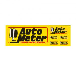 Sticker kit Auto Meter mini - Electrical section - Autometer - Autometer instruments  - Generic