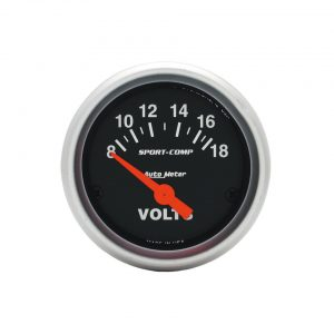 Voltmeter 'Sport Comp' - Electrical section - Autometer - Autometer instruments  - Generic