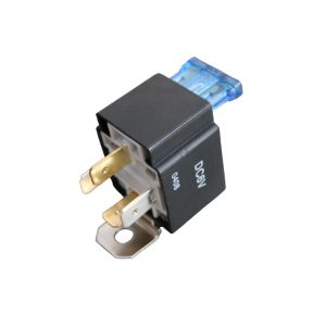 Relais 6V 30A, 15A secured - Electrical section - Switches and apparatuses - Relays, headlights, blinkers, wipers, switch  - Generic