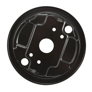 Backing plate, front right - Under-carriage - Brakes - Backing platesSold each  - BBT Production