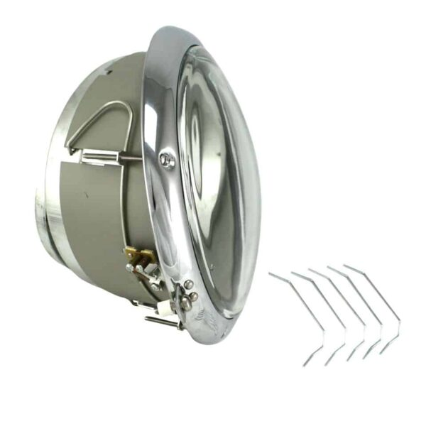 Headlight USA, left, superior quality - Electrical section - Headlights and accessories - Sloping headlights  - Generic