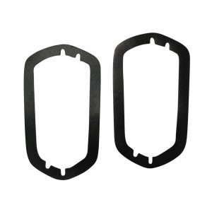 Seal taillight lens, as pair - Exterior - Body part rubbers - Rubbers Karmann Ghia (XView 1-16)  - Generic