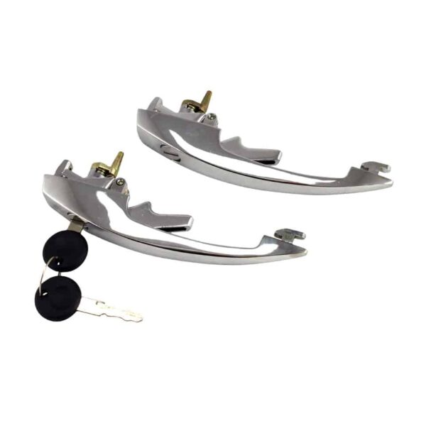 Door latch with keys, as pair - Exterior - Mirrors and latches - Latches and locks  - Generic
