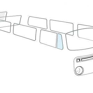 Ventwing window open right - Exterior - Windows and accessories - Windows - for aircooled VW (XView 1-09)  - Generic