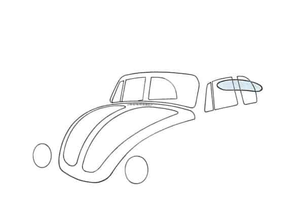 Rear window, beetle convertible, heated - Exterior - Windows and accessories - Windows - for aircooled VW (XView 1-09)  - Generic