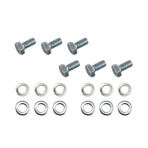 Bolts and washers for header spring bar plate assembly - Interior - Headliner clothing and sunvisors - Sliding roof parts  Bus, VW Sunroofs (XView 2-05)  - Generic