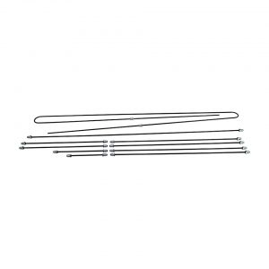 Brakeline kit, dual cirquit, original - Under-carriage - Brakes - Metal brake lines  - Generic