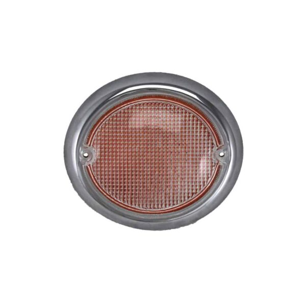 Turn signal lens, leftwhite - Electrical section - Lights and indicators - Direction indicators  Bus  - Generic