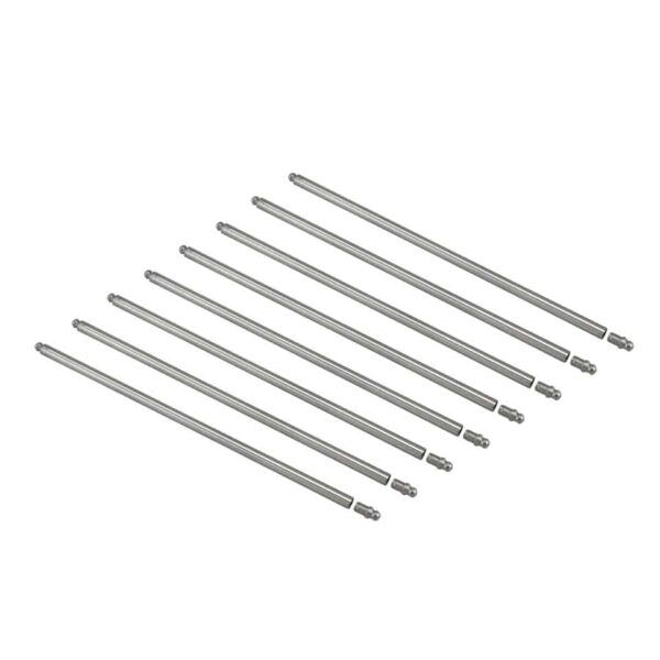 Pushrod set - blank end Chromoly, TQ, 8 pieces - Engine - Lower block - Cam shaft and parts (XView 5-03)  - Generic