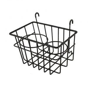 Storage Basket with cupholders, black - Interior - Upholstery and accessories - Stow away rack  Bus  - BBT Production