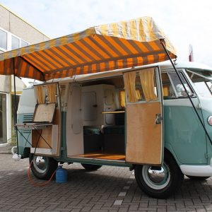 Westy tent top orange/white - Exterior - Accessories - Top Westy Tents  - BBT Production