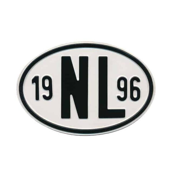 Sign NL 1996 - Exterior - Plates and accessories - Country - year signs  - Generic