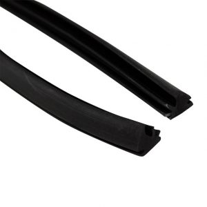 Vent wing flap seal, as pair - Exterior - Body part rubbers - Door rubbers for Beetle convertible '50-'64 (XView 1-12)  - Generic